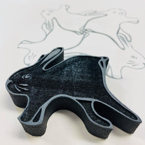 Marta Harvey | Bunny Tessellation | Foam Stamp