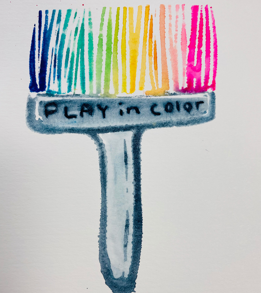 Mindy Lacefield | Play in Color | Foam Stamp