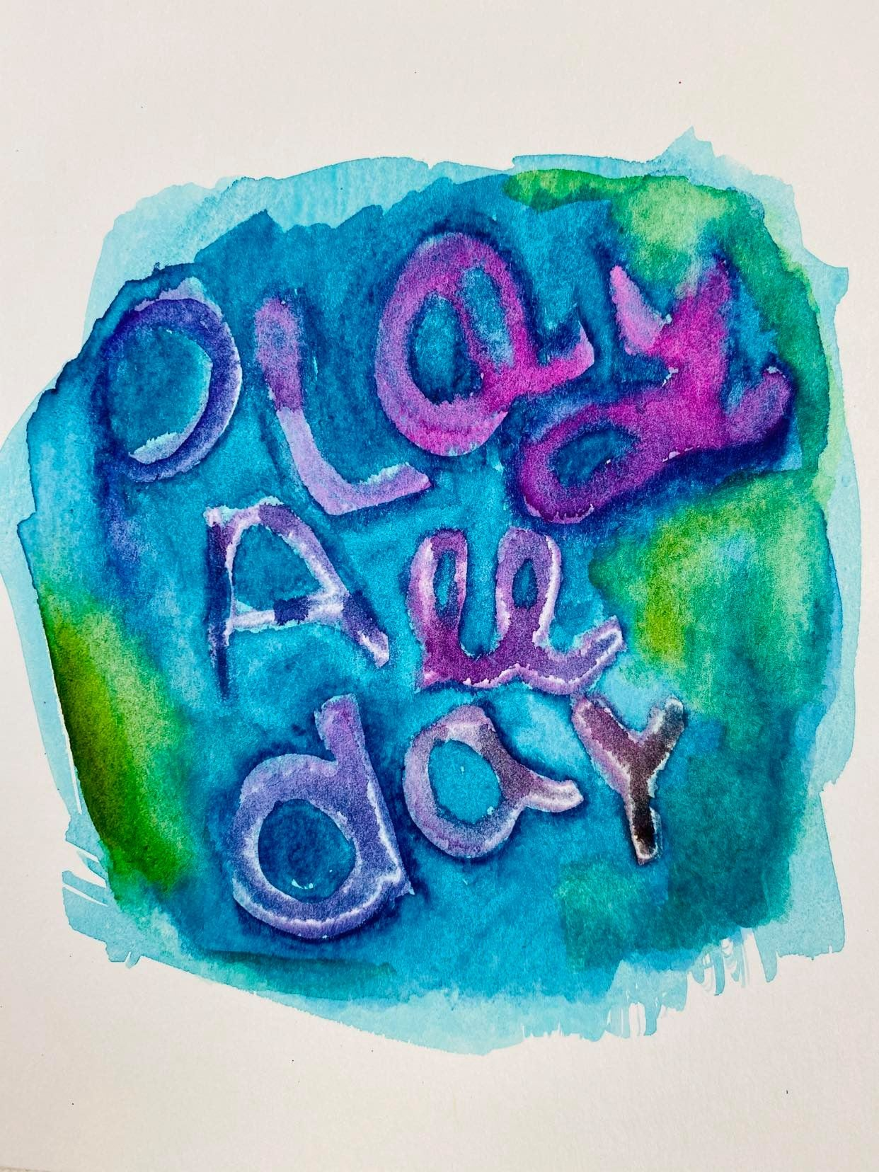 Mindy Lacefield | Play All Day | Foam Stamp