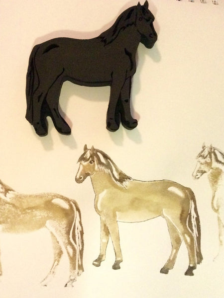 Red Tin Roof | Horse | Foam Stamp