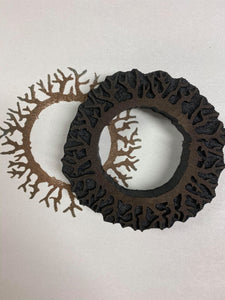 Sandra Evertson | Driftwood Crown | Foam Stamp