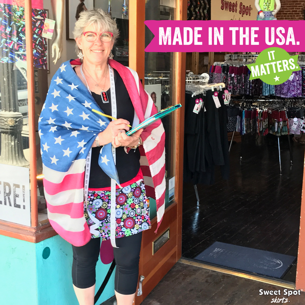 Meet Dianna, She makes your skirts! #MadeintheUSA