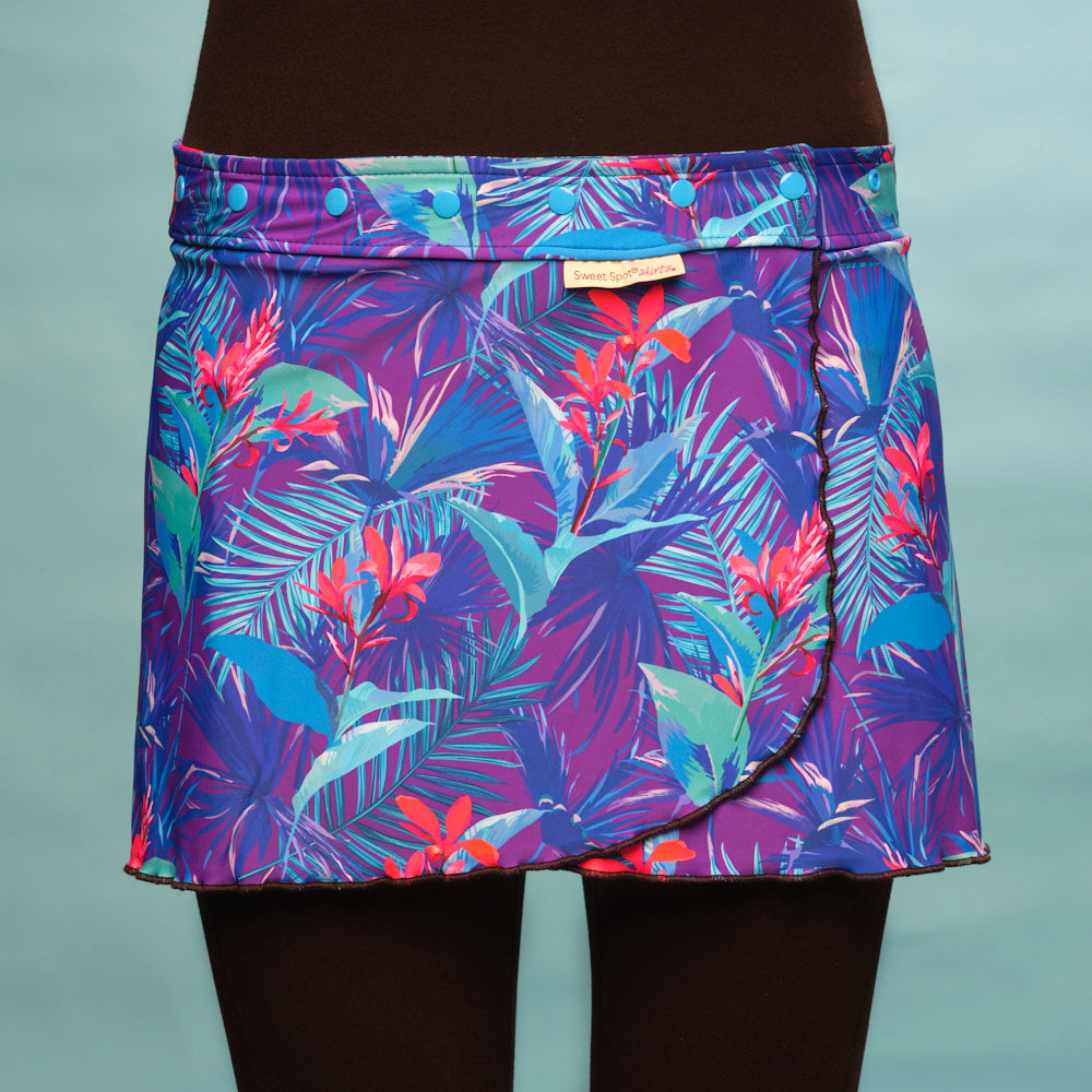 Fast 'N Flirty Tropical Tango Running Skirt
