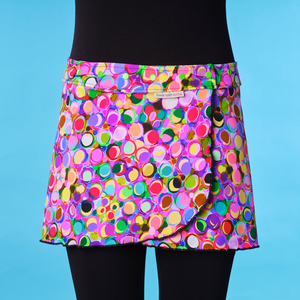 Fast 'N Flirty Paint Night Running Skirt