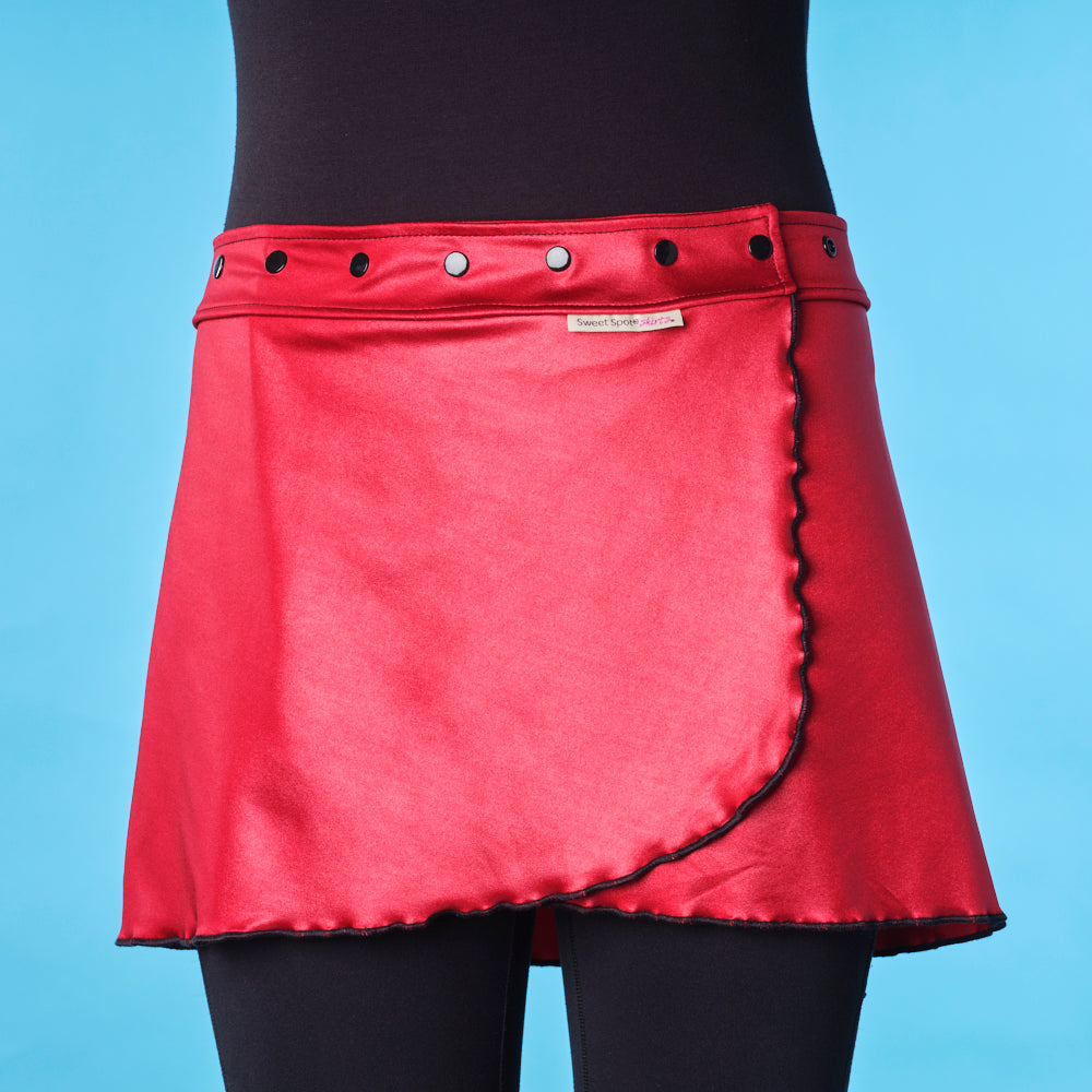 Fast 'N Flirty Queen Red Running Skirt