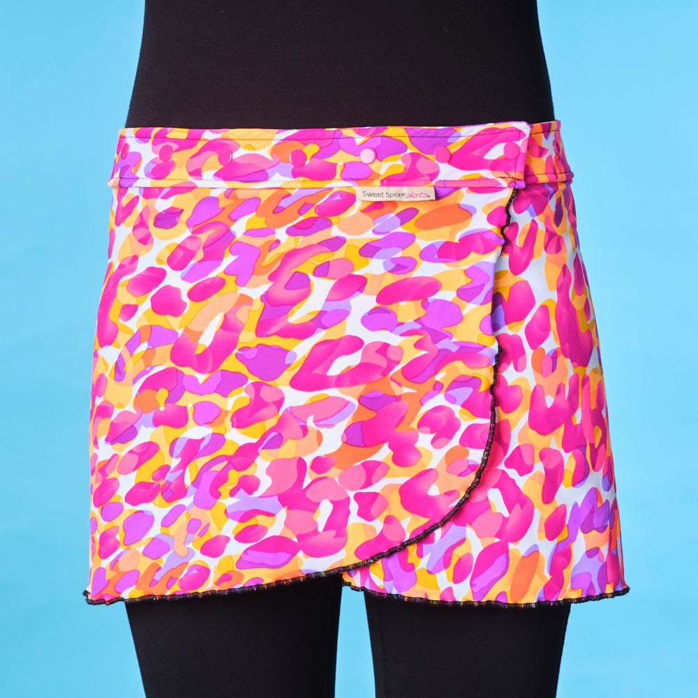 Fast 'N Flirty- Lava Lamp Running Skirt