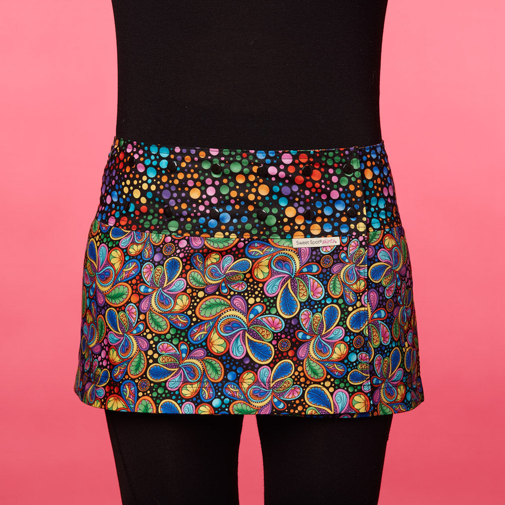 Ecstatic Explosion Athletic Skirt