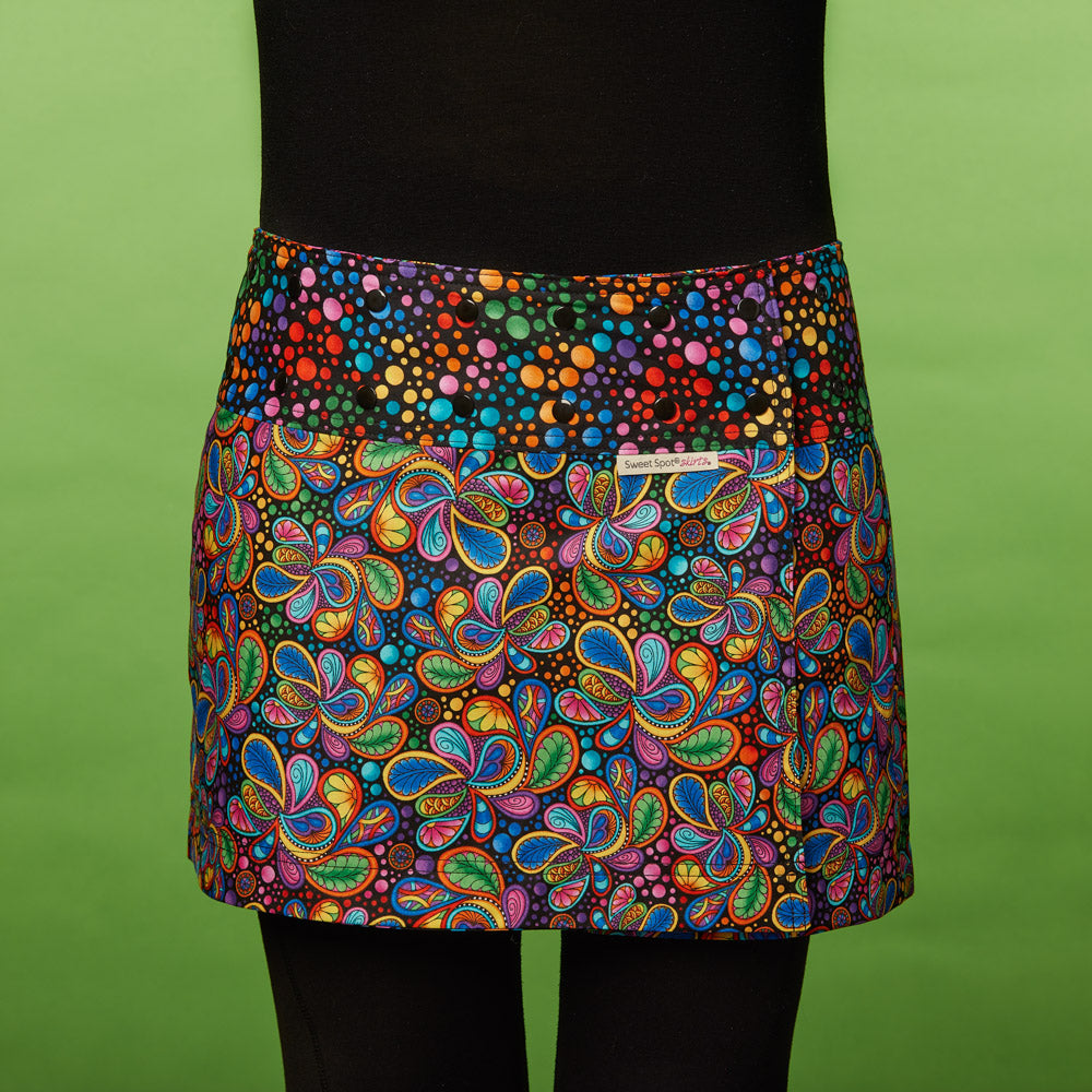 Ecstatic Explosion Golf Skirt