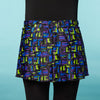 Fast 'N Flirty- Box Jelly Bold Running Skirt