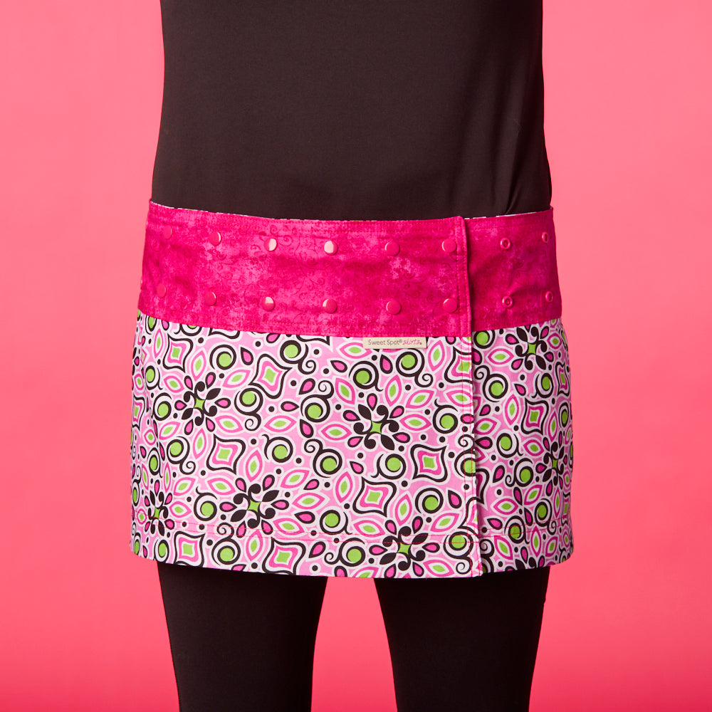BFF Pink/Pink Athletic Skirt