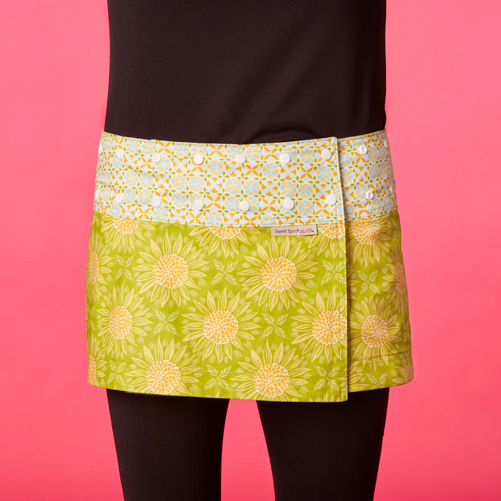Lemon Lime Classic Athletic Skirt