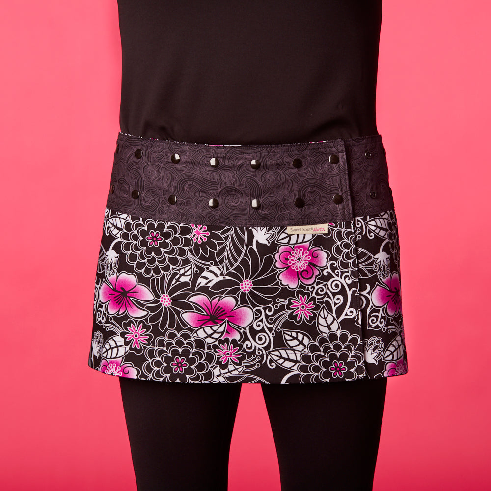 a7a463282 Swirly Girl Pink Athletic Skirt