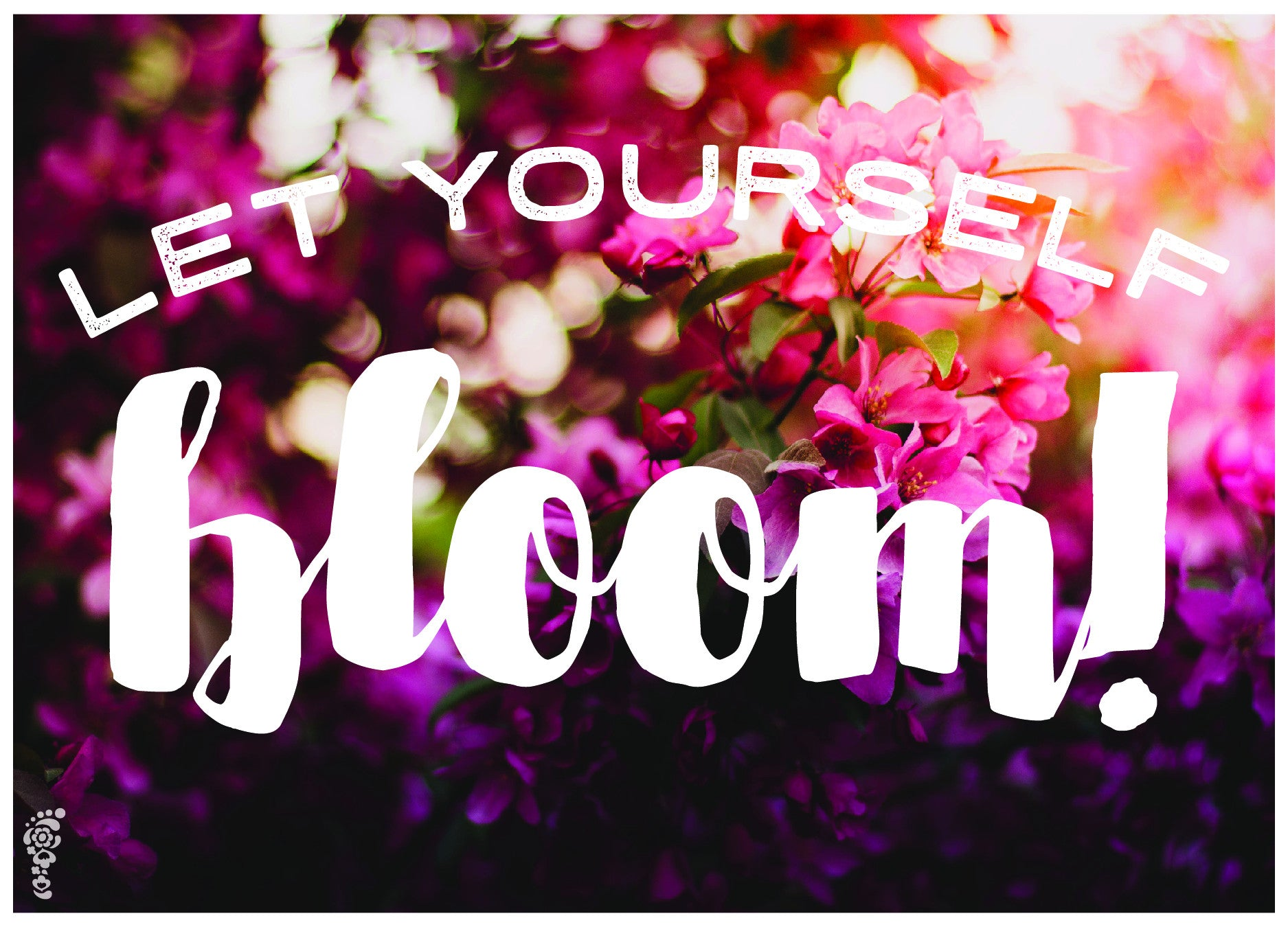 Let Yourself Bloom Note Cards