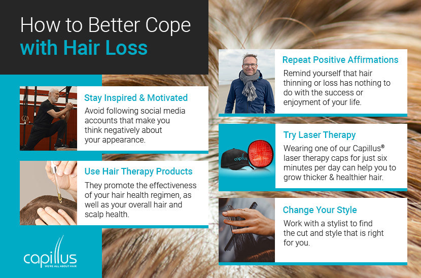 How to Better Cope with Hair Loss