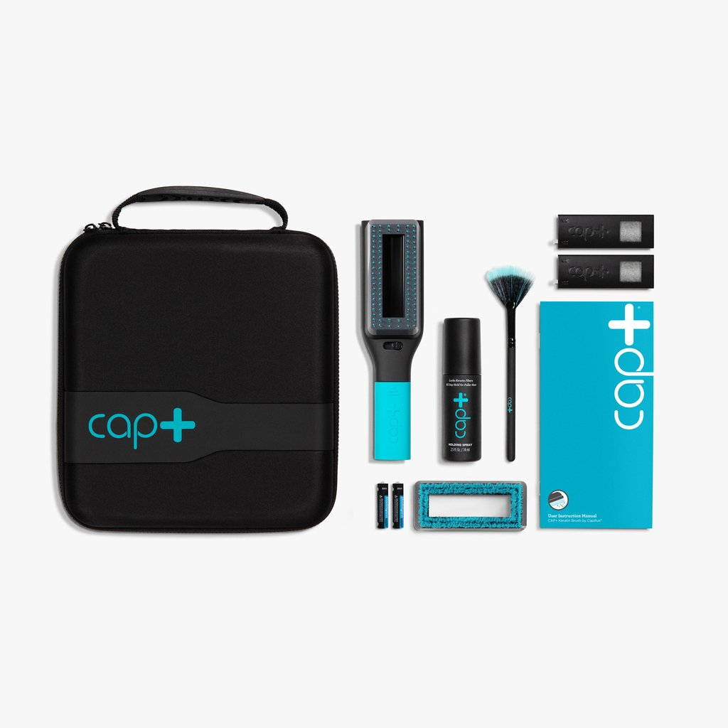 Cap+ Volumizing Keratin Brush Starter Kit - Flash Sale