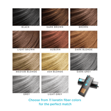 Your choice of 11 different natural colors with Cap+ by Capillus