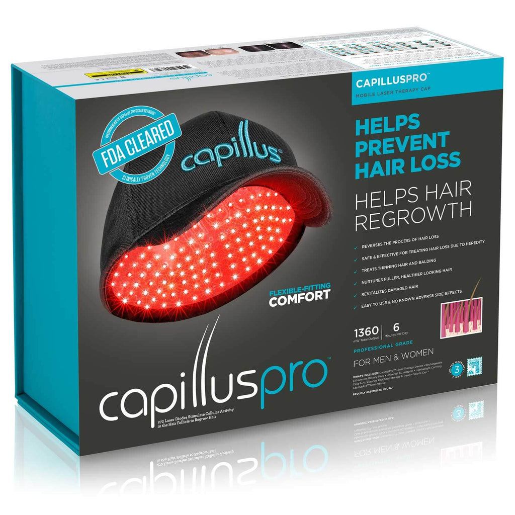 CapillusPro Hair Regrowth Laser Cap Box