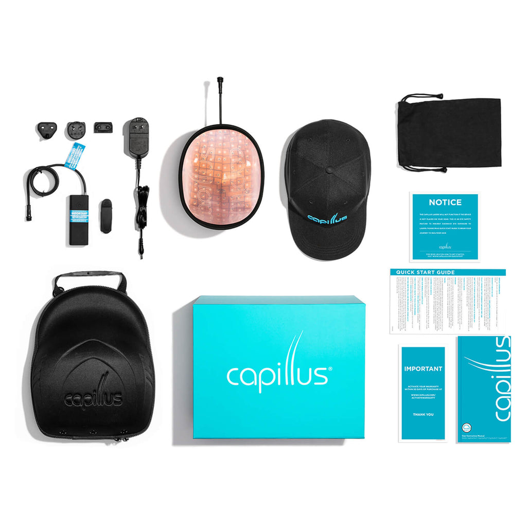 CapillusX includes everything that you need to help regrow your hair