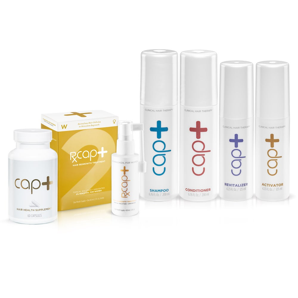 Cap+ Ultimate Hair & Scalp Box for Women – FDA-Approved