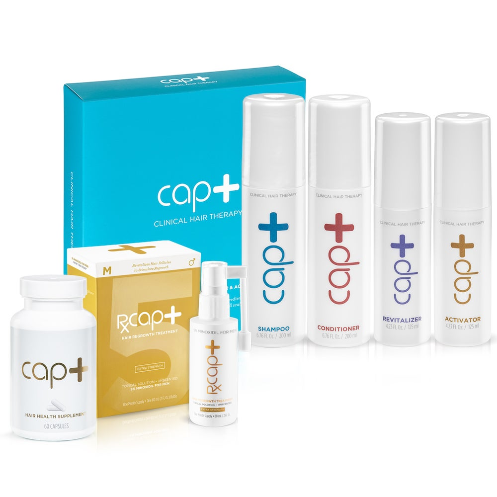 Cap+ Ultimate Hair & Scalp Box for Men – FDA-Approved