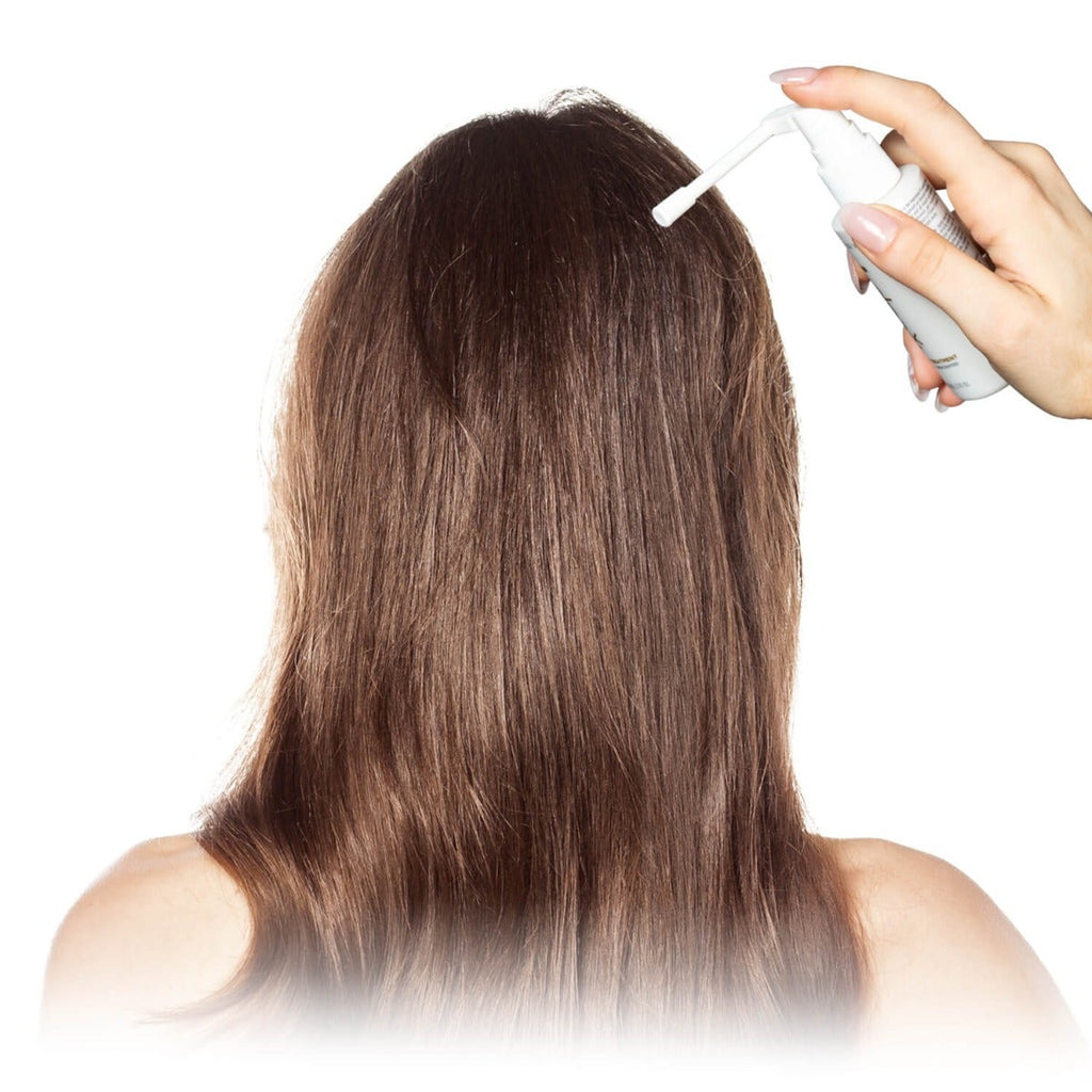 RxCap 2% Minoxidil Hair Regrowth Treatment for Women - Applicator for no-mess Treatment