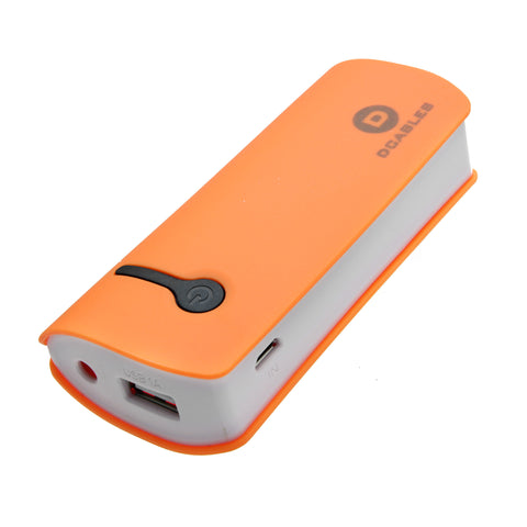 5200 mAH Portable Back Up Charger - 4 colors