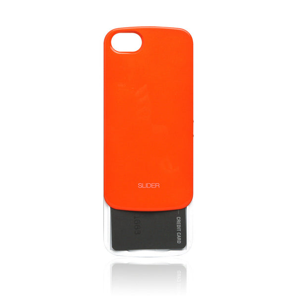 Slider Credit Card Case for iPhone 5 & 5s - 10 Colors