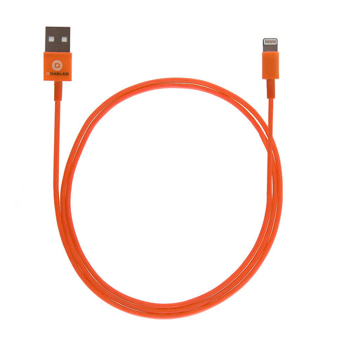 3 Foot Colored USB Charger Cable With Lightning Compatible Connector