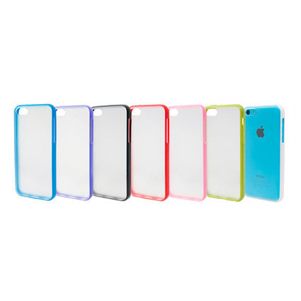 Frosted Back iPhone 5 Case / Cover - 7 Colors