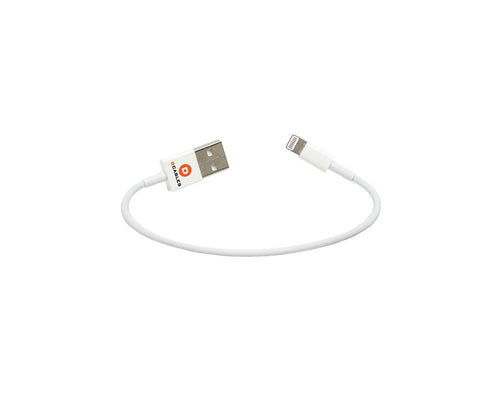 dCables 6 inch Short USB Cable with Lightning Compatible Connector