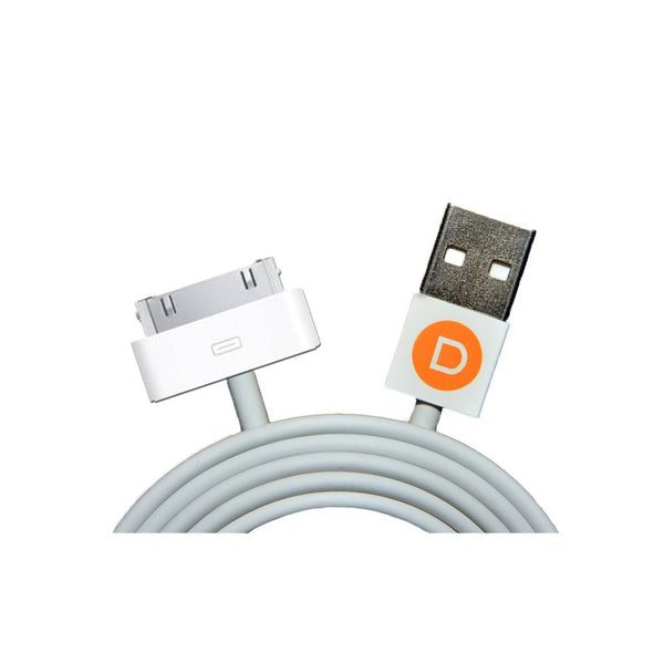 USB Charging Cable for Apple iPhone 3, iPhone 4/4S, iPad, iPod, Nano