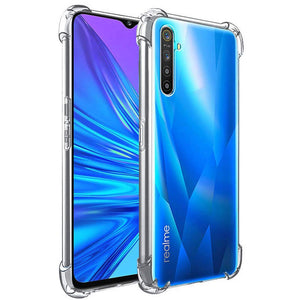 YOFO Shockproof Transparent Back Cover for REALME 6 - All Sides Protection Case