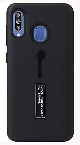 YOFO Fashion Case Full Protection Back Cover for Samsung M30(BLACK)