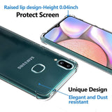 YOFO  Shockproof HD Transparent Back Cover for Samsung M01s (Transparent)