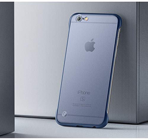 YOFO TPU Frameless case for iPhone-6 (BLUE)