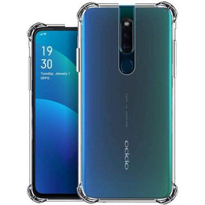 YOFO  Shockproof HD Transparent Back Cover for Oppo F11 Pro (Transparent)