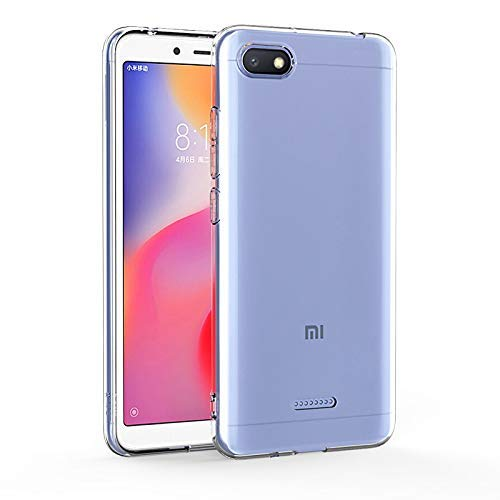 YOFO Silicone Back Cover for MI Redmi 6A -Transparent HD