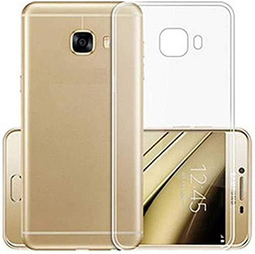 YOFO Silicone Back Cover for Samsung Galaxy J7 Max(Transparent)