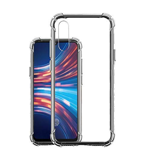 YOFO Shockproof Transparent Back Cover for VIVO S1 - (Transparent) Full Protection Case