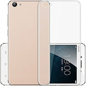 YOFO Back Cover (Transparent) Soft Clear Back Cover for Vivo Y71