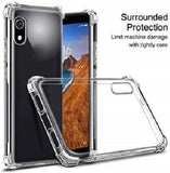 YOFO Rubber Shockproof Soft Transparent Back Cover for MI Redmi 7A - All Sides Protection Case