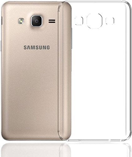 YOFO Soft Clear Back Cover for Samsung On7 / On7 Pro Back Cover (Transparent)