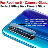 YOFO Anti Scratch Camera Lens Screen Protector 9H Camera Nano Glass for Realme 6 (Transparent)