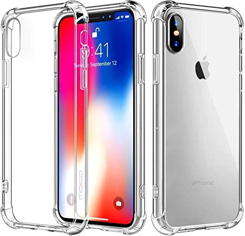 YOFO Back Cover for Apple iPhone X/XS Back Cover (Transparent)