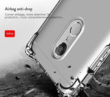 YOFO Ultra Thin Shockproof Back Cover for Mi Redmi Note 4 ((Transparent))