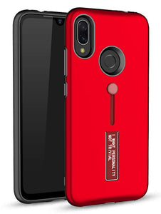 YOFO Fashion Case Full Protection Back Cover for MI REDMI Note 7 / 7S / Note 7 PRO  RED