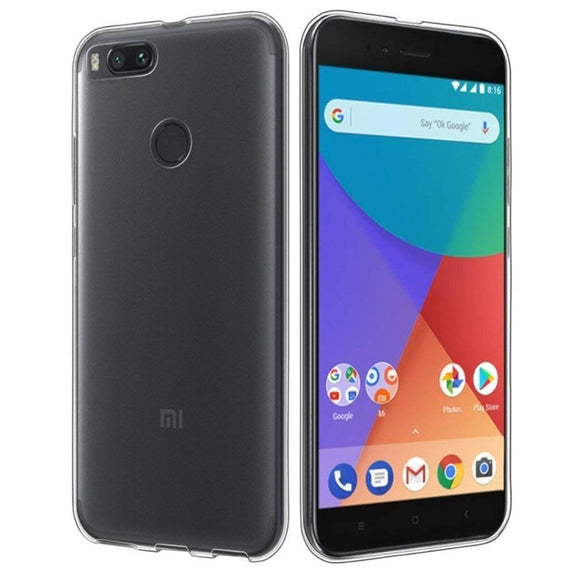 YOFO TPU Soft Gel  Shockproof Back Cover for MI A1