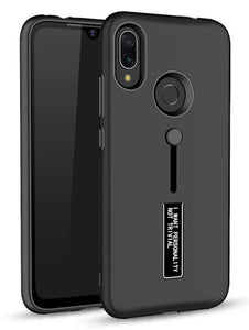 YOFO Black Fashion Case Full Protection Back Cover for MI REDMI Note 7 / 7S / Note 7 PRO Black