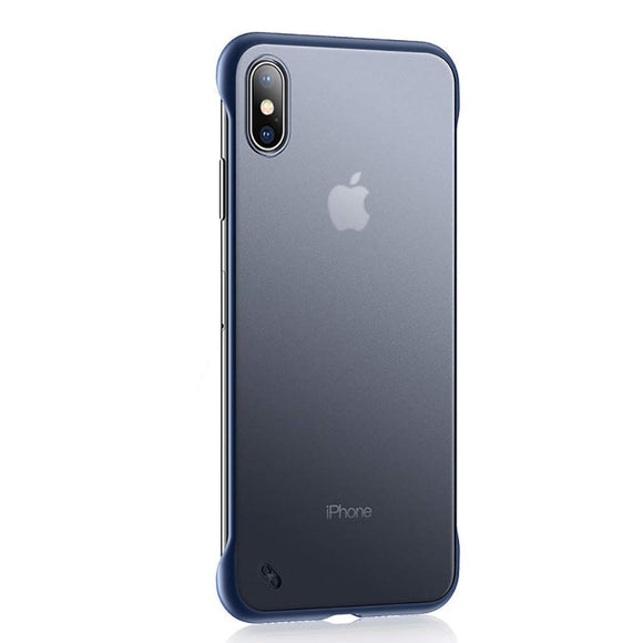 YOFO TPU Frameless case for iPhone-X (BLUE)
