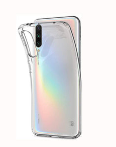 YOFO Silicon Shockproof Soft Transparent Back Cover for MI A3 (Transparent HD)